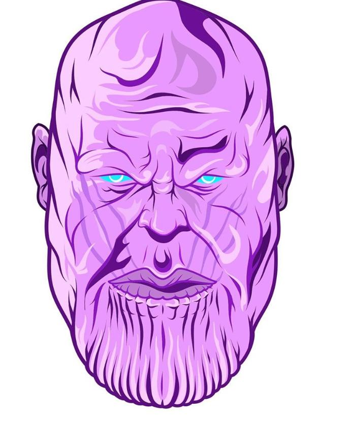 Thanos illustrations