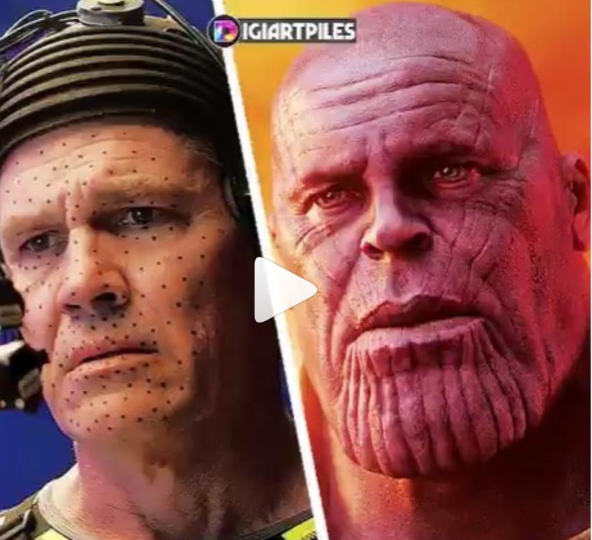 Thanos CGI facts - Josh Brolin