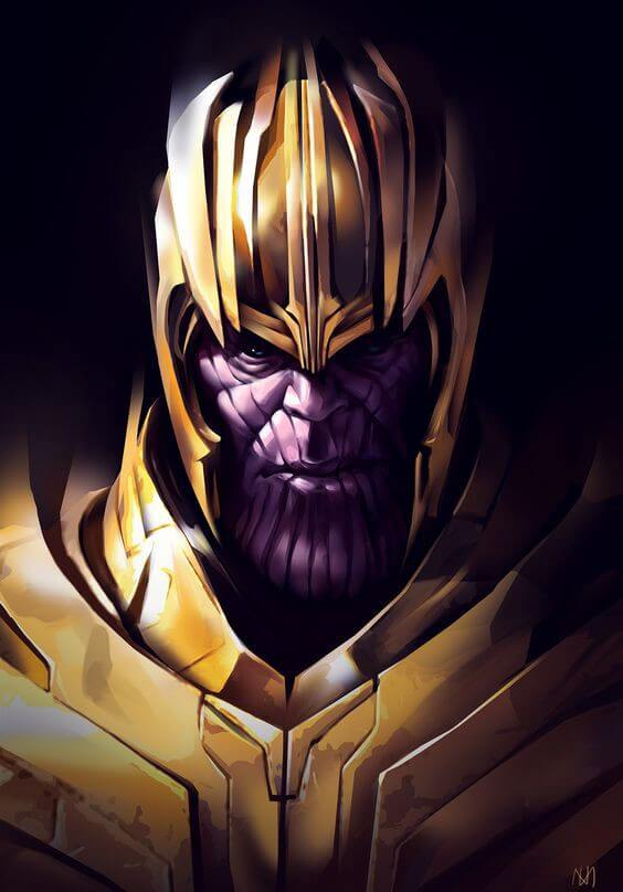 most powerful super villains - thanos