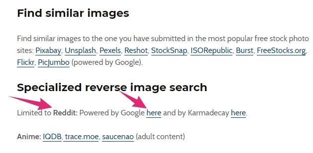reddit reverse image search
