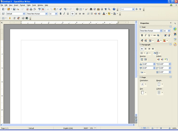 How to Delete a Page in Open Office