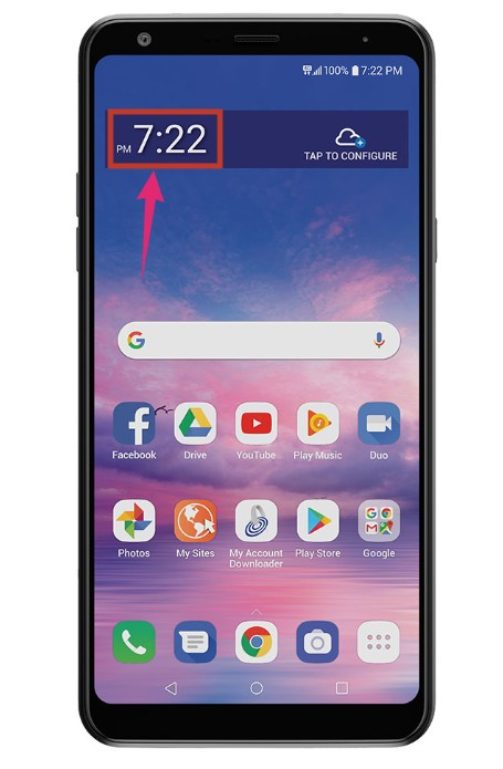 How To Change Time On LG TracFone?