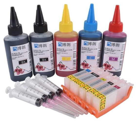 How to Transfer Ink from One Cartridge to Another