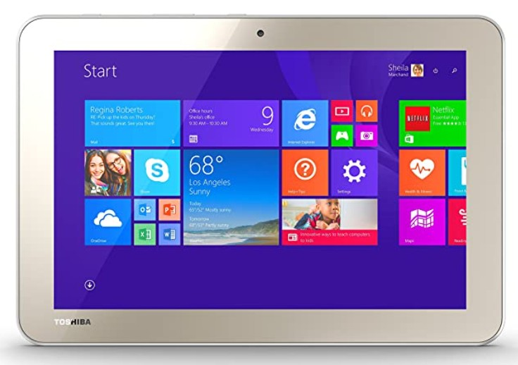 How to Screenshot on a Toshiba Tablet