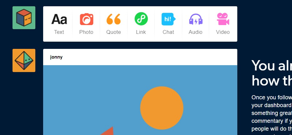 Find out how many followers someone has on Tumblr.using Tumblr options.